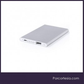 Power bank alumínio